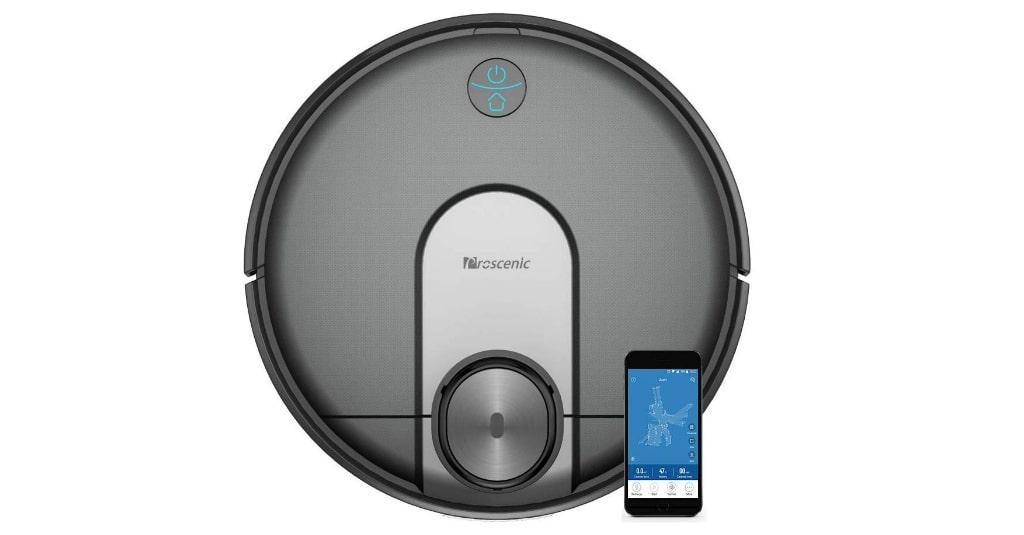Proscenic M7 Robot Vacuum Cleaner, Laser Navigation, App & Alexa Control