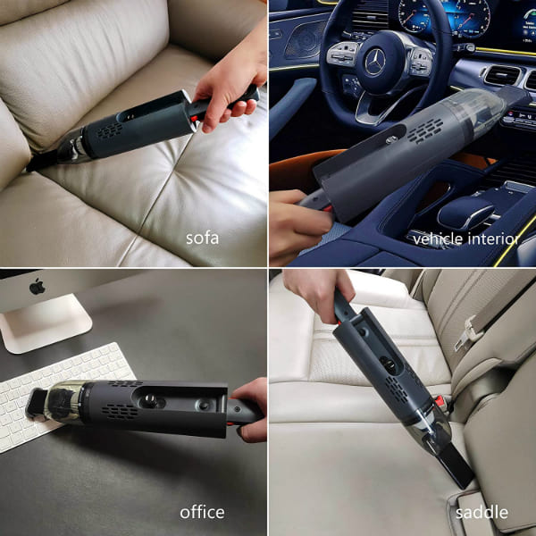 Car Vacuum Cleaners USB Charging Wet Dry Cleaning