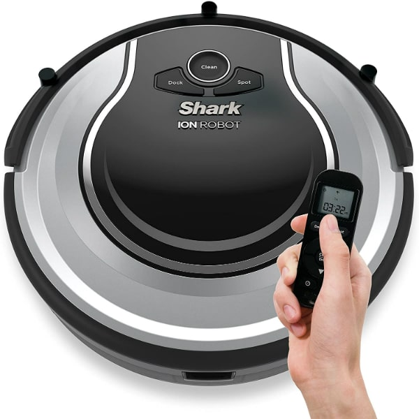 Shark-ION-Robot-Dual-Action-Robot-Vacuum-Cleaner-with-1-Hour-Plus-of-Cleaning-Time-Smart-Sensor-Navigation-and-Remote-Control-RV720