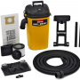 Shop-Vac 3942300 5 gallon 4.0 Peak HP Wall Mount Wet/Dry Vacuum Yellow/Black Hands-Free Vacuum with Accessories Type AA Cartridge Filter & Type CC Foam